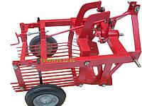Картофелекопалка КТМ-1 для трактора однорядная грохотного типа без кардана