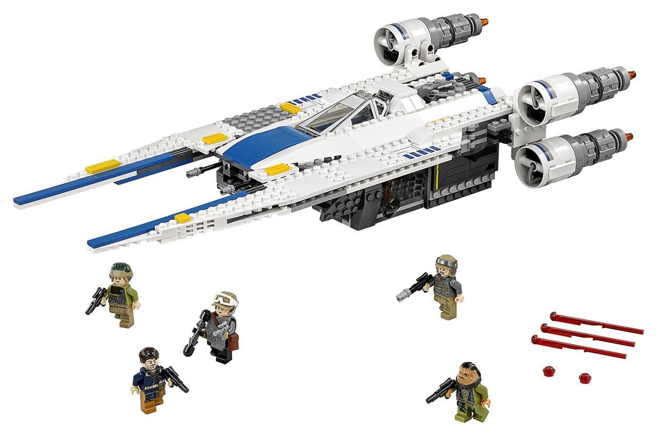 LEGO STAR WARS Истребитель Повстанцев Rebel U-Wing Fighter 75155