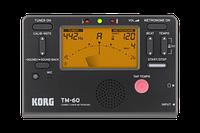 Тюнер-метроном Korg TM-60 (Black)