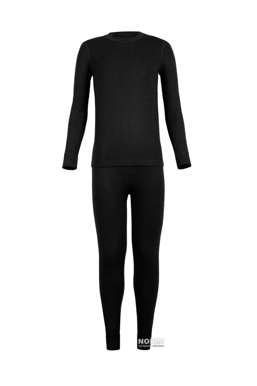 Термокомплект подростковый KIFA для мальчика (КДМ-203) Черный