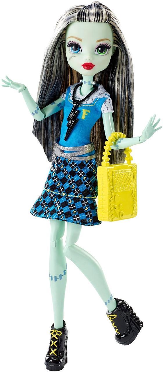 Monster High Фрэнки Штейн Первый день в школе First Day of School Frankie Stein Doll
