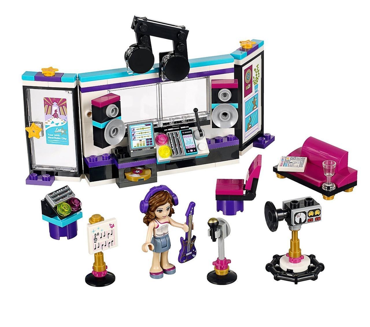 LEGO Friends Поп-звезда в студии звукозаписи Pop Star Recording Studio 41103