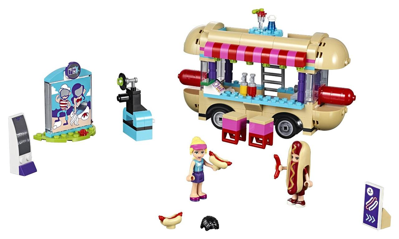 LEGO Friends Парк развлечений Фургон с хот-догами Amusement Park Hot Dog Van 41129