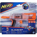 Nerf Бластер Элит Глоушот белый N-Strike GlowShot Blaster, фото 2