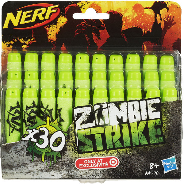 Nerf Набор патронов Зомби Страйк 30 шт. Zombie Strike Dart Refill Pack A4570