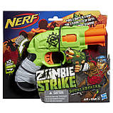 Nerf Бластер Зомби Страйк Двойной Удар Zombie Strike Doublestrike Blaster A6562, фото 2