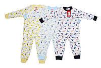 Пижама детская трикотажная для мальчика и для девочки. Minitini 5522, фото 1