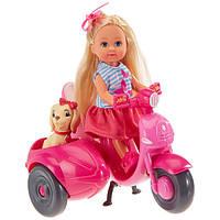 Simba Evi Love Еви и ее собачка на мотороллере Scooter Tour 5736584