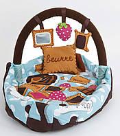 Кокон развивающий коврик Ludi 2819 - детская кроватка для детей