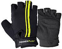 Велоперчатки PowerPlay 5031 G XL Черно-желтые 5031GXLBlack-Yellow, КОД: 1269804