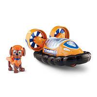 Paw Patrol Щенячий патруль спасательный автомобиль с фигуркой Зума Nickelodeon Zuma's Hovercraft