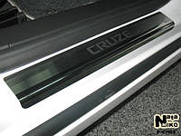 НАКЛАДКИ НА ПОРОГИ CHEVROLET CRUZE 4D / 5D 2008- / 2011-
