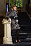 Шуба жилет жилетка из чернобурки silver fox fur coat jacket vest gilet, фото 3