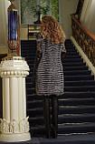 Шуба жилет жилетка из чернобурки silver fox fur coat jacket vest gilet, фото 5