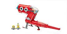 Mega Bloks Миньоны Суперзлодейский самолет Minions Supervillain Jet