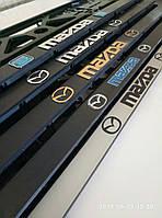 Рамка номерного знака с логотипом, эмблемой, фирменным знаком.
