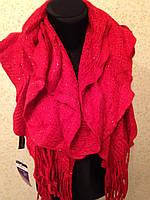 Зимний шарф с люрексом (цв 02)