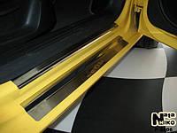 НАКЛАДКИ НА ПОРОГИ SEAT LEON II 2005-