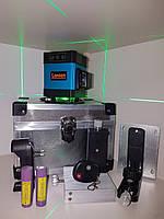 Лазерный нивелир для полов LANION 3D 《ЗЕЛЕНЫЙ ЛУЧ-50М》《ЦЫФРОВОЙ ИНДИКАТОР ЗАРЯДА》