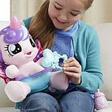 My Little Pony Интерактивная пони-принцесса малышка Флари Харт Baby Flurry Heart Pony Figure, фото 4