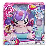 My Little Pony Интерактивная пони-принцесса малышка Флари Харт Baby Flurry Heart Pony Figure, фото 6