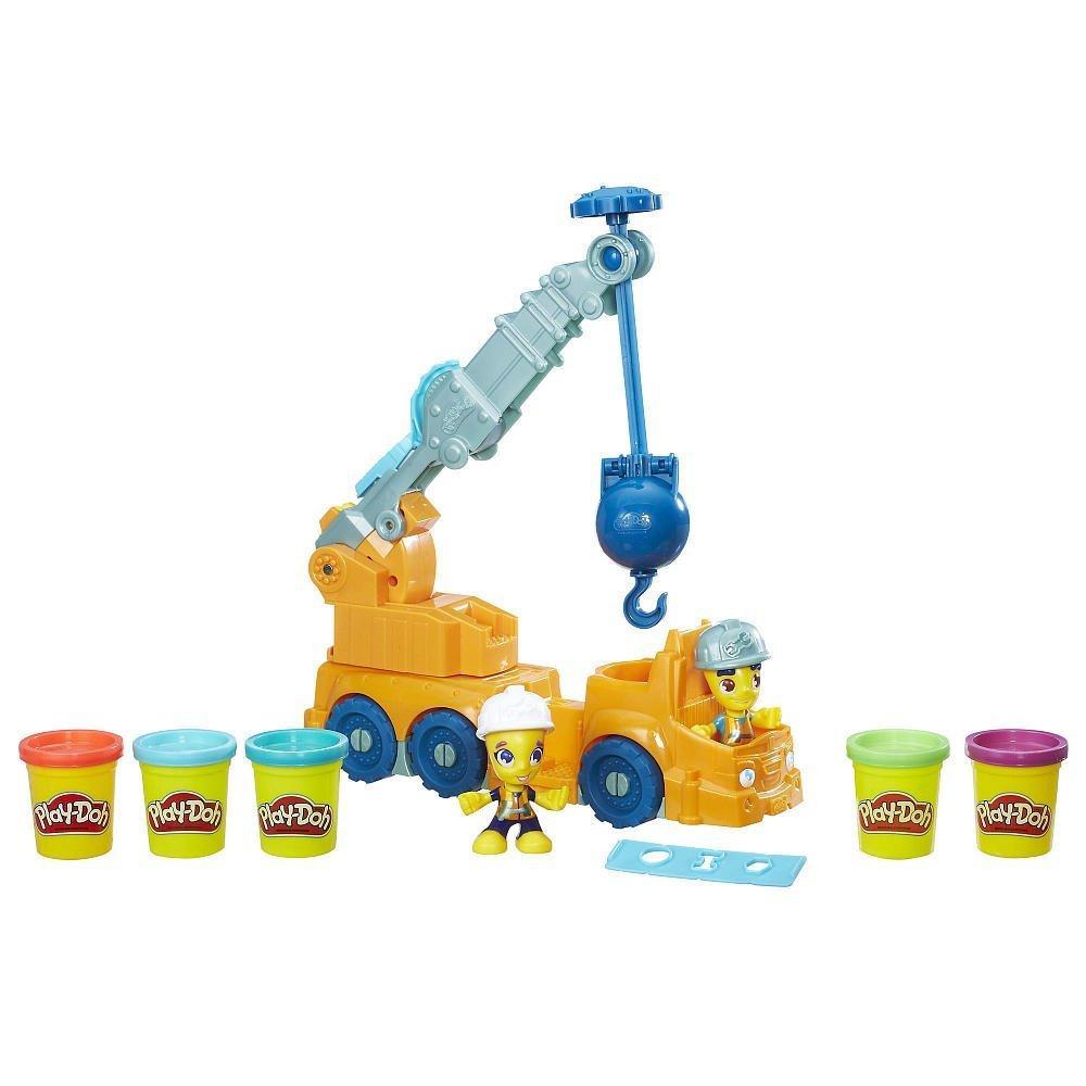 Play-Doh строительный кран Town Power Crane Playset