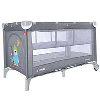 Кроватка-манеж Carrello Piccolo+ CRL-9201/1, цвет Ash Grey