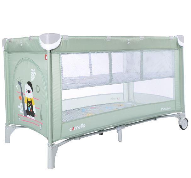 Кроватка-манеж Carrello Piccolo+ CRL-9201/1, цвет Cameo Green