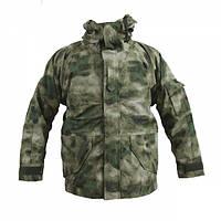 Куртка тактическая MIL-TEC ветро-влагозащитная с флисовой подстежкой AT FG, фото 1