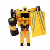 Трансформер X-Bot Грузовик Желтый 2-80050-63171, КОД: 121473