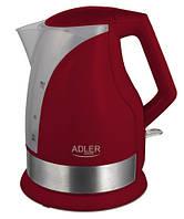 Электрический чайник  Adler AD 1215 red, фото 1