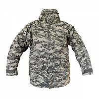 Куртка тактическая MIL-TEC ветро-влагозащитная с флисовой подстежкой ACU, фото 1