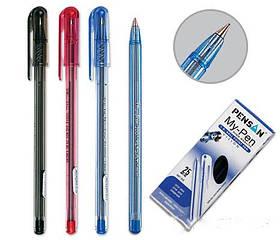 Ручка Масляная 1.0 мм My Pen  красная