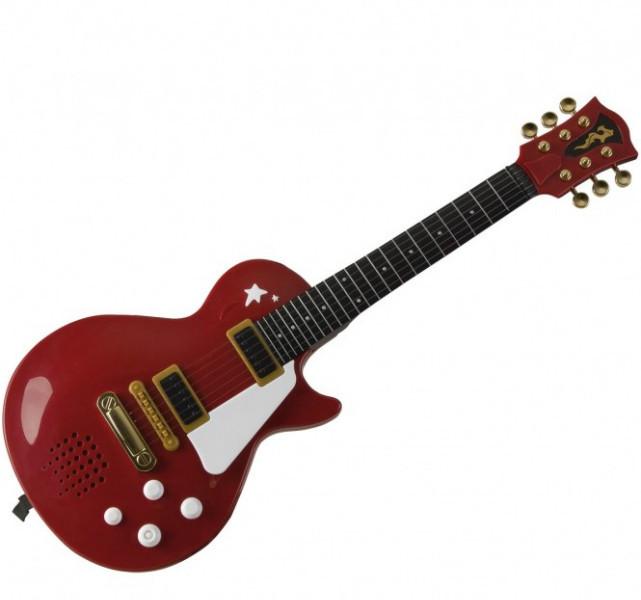 Simba Электронная Рок Гитара красная Rock Gitar 6837110