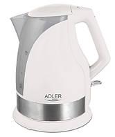 Электрический чайник  Adler AD 1215 white, фото 1