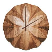 Настенные часы из деревянного массива DK Store Premium A004 Фрактал 320х320 мм hubxWbJ64852, КОД: 1301226