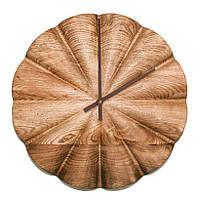 Настенные часы из деревянного массива DK Store Premium A001 Полукруг 320х320 мм hubYpwf46702, КОД: 1301238