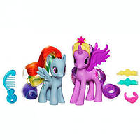 My Little Pony Игровой набор Принцесса Каденс и Радуга Рейнбоу Дэш Princess Twilight Sparkle and Rainbow Dash Figures A2657