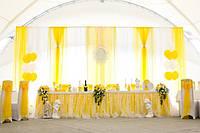 Свадебное оформление в лимонном стиле (Наши работы)