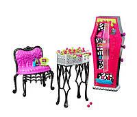 Monster High Набор мебели Игровой набор зал отдыха для учащихся Школы Монстров Social Spots Student Lounge Accessory