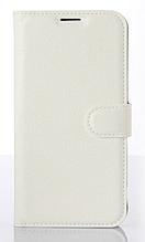 Шкіряний чохол-книжка для LG G5 білий