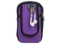 Чохол сумка для мобільного телефону Iphone, Huawei, Samsung, Xiaomi  Фіолетовий