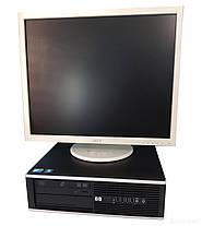 """HP 6000 SFF / Intel Core 2 Duo E8400 (2 ядра по 3.0GHz) / 8 GB DDR3 / 500 GB HDD + Монитор Acer B193 / 19"""" (1280x1024) TFT TN / DVI, VGA / Встроенные, фото 3"""