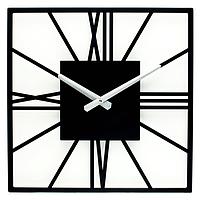 Настенные Часы Glozis New York 35х35 см Черный B-024, КОД: 285337