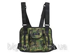 Тактическая сумка для груди Hgul Bag  Камуфляж