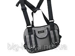 Тактическая сумка для груди Hgul Bag  Серый