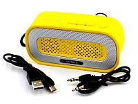 Колонка Bluetooth MP3 Neeka NK-BT74 Желтая 1em005997, КОД: 897805