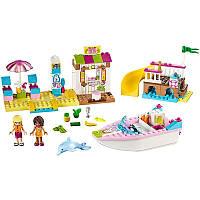Lego Juniors День на пляже с Андреа и Стефани 10747 Andrea and Stephanie's Beach Holiday Building Set