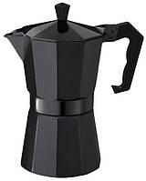 Гейзерная кофеварка CON BRIO CB-6009 (450 мл) (металик, салатовая)