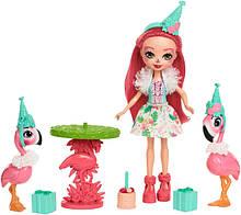Enchantimals Набор Праздник Фламинго Let's Flamingle Dolls & Playset FCG79
